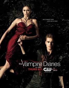 The Vampire Diaries (TV) - 27 x 40 TV Poster - Style P