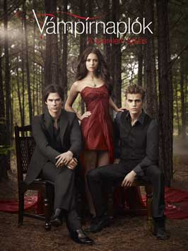 The Vampire Diaries (TV) - 11 x 17 TV Poster - Hungarian Style A