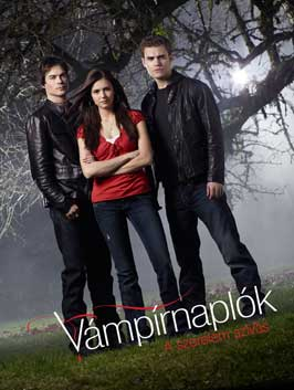 The Vampire Diaries (TV) - 11 x 17 TV Poster - Hungarian Style C