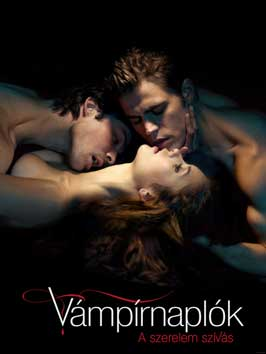 The Vampire Diaries (TV) - 11 x 17 TV Poster - Hungarian Style D