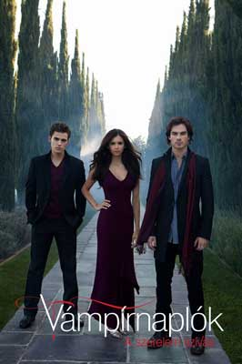 The Vampire Diaries (TV) - 11 x 17 TV Poster - Hungarian Style M