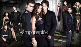 The Vampire Diaries (TV) - 27 x 40 TV Poster - Hungarian Style B