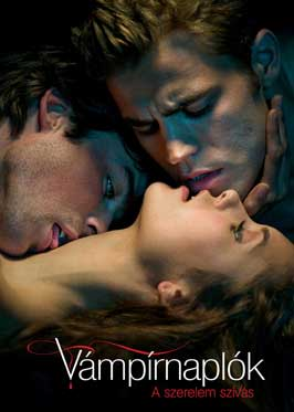 The Vampire Diaries (TV) - 27 x 40 TV Poster - Hungarian Style D