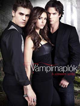 The Vampire Diaries (TV) - 27 x 40 TV Poster - Hungarian Style G