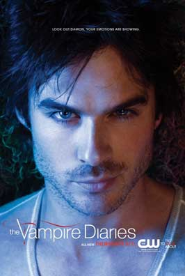 The Vampire Diaries (TV) - 27 x 40 TV Poster - Style R