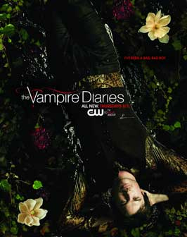 The Vampire Diaries (TV) - 11 x 17 TV Poster - Style AD