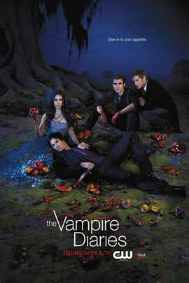 The Vampire Diaries (TV) - 11 x 17 TV Poster - Style AF