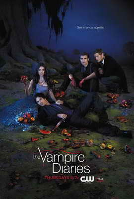 The Vampire Diaries (TV) - 27 x 40 TV Poster - Style T