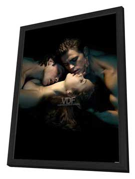 The Vampire Diaries (TV) - 27 x 40 TV Poster - Style K - in Deluxe Wood Frame