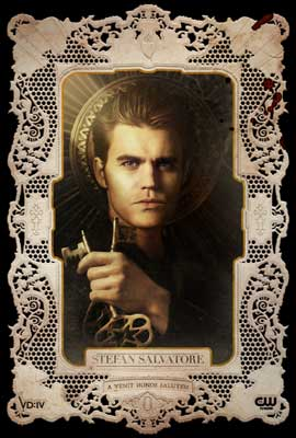 The Vampire Diaries (TV) - 11 x 17 TV Poster - Style AI