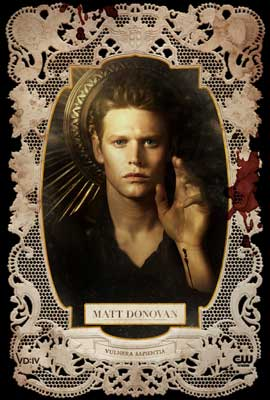 The Vampire Diaries (TV) - 27 x 40 TV Poster - Style AD