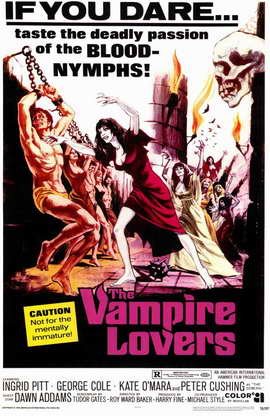 The Vampire Lovers - 11 x 17 Movie Poster - Style A
