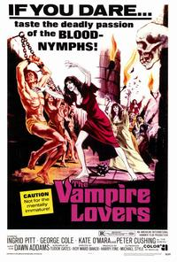 The Vampire Lovers - 27 x 40 Movie Poster - Style A
