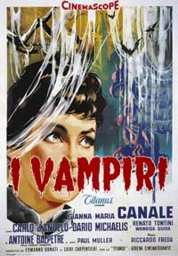 The Vampire - 27 x 40 Movie Poster - Italian Style A