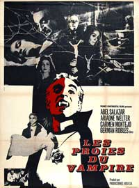 The Vampire - 27 x 40 Movie Poster - French Style A