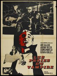 The Vampire's Coffin - 11 x 17 Movie Poster - French Style A