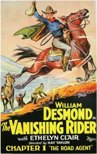 The Vanishing Rider - 11 x 17 Movie Poster - Style A