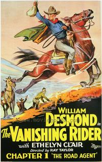 The Vanishing Rider - 27 x 40 Movie Poster - Style A