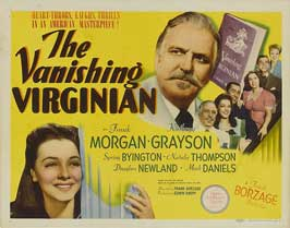 The Vanishing Virginian - 11 x 14 Movie Poster - Style A