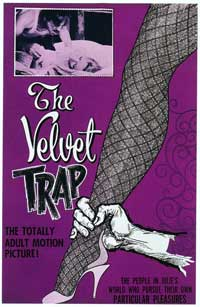 The Velvet Trap - 27 x 40 Movie Poster - Style A
