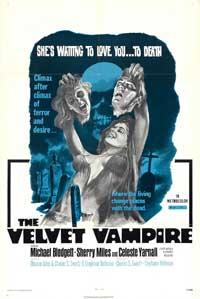 The Velvet Vampire - 11 x 17 Movie Poster - Style B