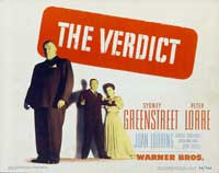 The Verdict - 22 x 28 Movie Poster - Half Sheet Style A