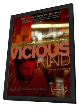 The Vicious Kind - 11 x 17 Movie Poster - Style A - in Deluxe Wood Frame