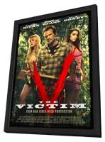 The Victim - 27 x 40 Movie Poster - Style A - in Deluxe Wood Frame