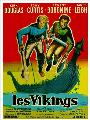 The Vikings - 11 x 17 Movie Poster - French Style C