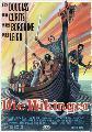 The Vikings - 11 x 17 Movie Poster - German Style B