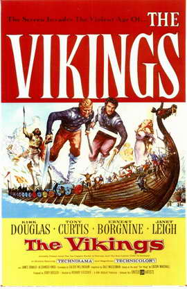 The Vikings - 11 x 17 Movie Poster - Style A