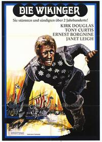The Vikings - 11 x 17 Movie Poster - German Style A