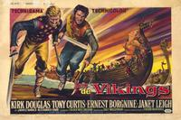 The Vikings - 11 x 17 Movie Poster - French Style A