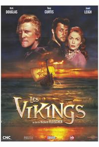 The Vikings - 27 x 40 Movie Poster - French Style A