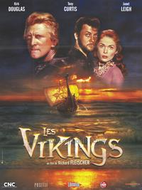 The Vikings - 43 x 62 Movie Poster - French Style A