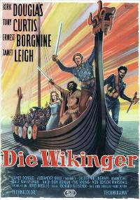 The Vikings - 27 x 40 Movie Poster - German Style A