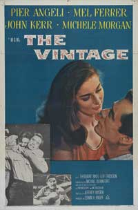The Vintage - 11 x 17 Movie Poster - Style A