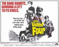 The Violent Four - 11 x 14 Movie Poster - Style A