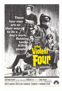 The Violent Four - 27 x 40 Movie Poster - Style A