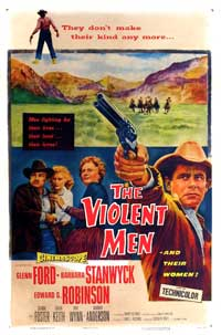The Violent Men - 27 x 40 Movie Poster - Style A