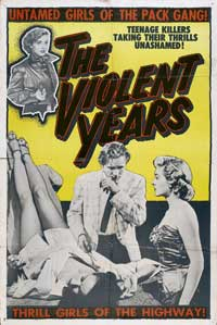 The Violent Years - 11 x 17 Movie Poster - Style A