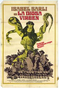 The Virgin Goddess - 27 x 40 Movie Poster - Spanish Style A