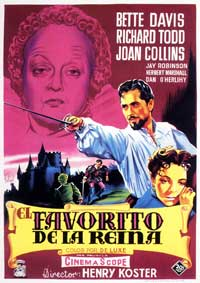 The Virgin Queen - 11 x 17 Movie Poster - Spanish Style B