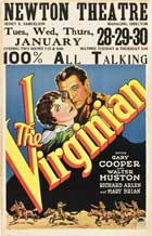 The Virginian - 11 x 17 Movie Poster - Style E
