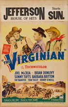 The Virginian - 27 x 40 Movie Poster - Style C