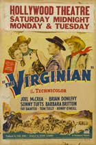 The Virginian - 27 x 40 Movie Poster - Style D