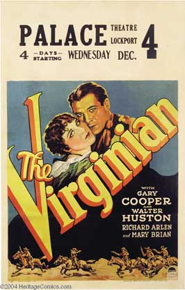 The Virginian - 11 x 17 Movie Poster - Style D