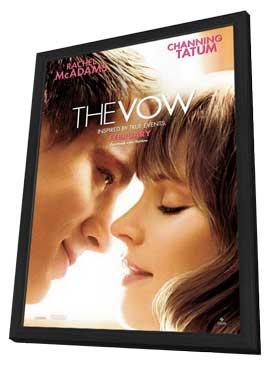 The Vow - 27 x 40 Movie Poster - Style A - in Deluxe Wood Frame