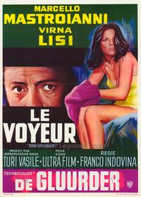 The Voyeur - 11 x 17 Movie Poster - Belgian Style A