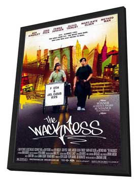 The Wackness - 11 x 17 Movie Poster - Style A - in Deluxe Wood Frame